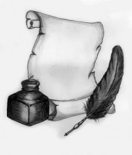 Quill__Scroll_and_Ink_by_MP3Designs