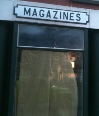 death of magazines