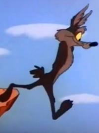 Wile-e-Coyote cliff