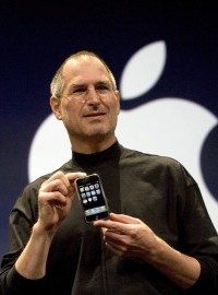 Steve Jobs iPhone interface