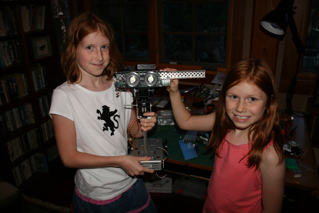 Beatty Robotics 1st robot
