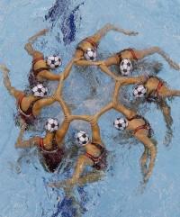 London Olympics Womens Synchronized Swimming